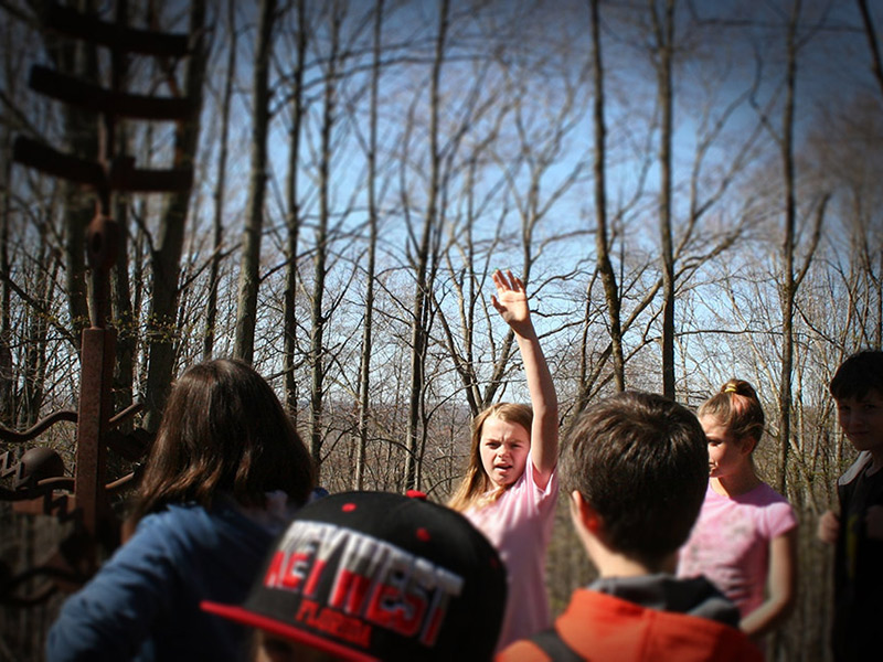 Michigan Legacy Art Park Field Trips