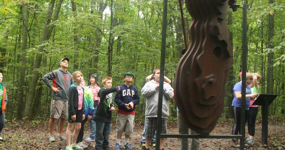 Betsie Valley students learn about Lake Michigan