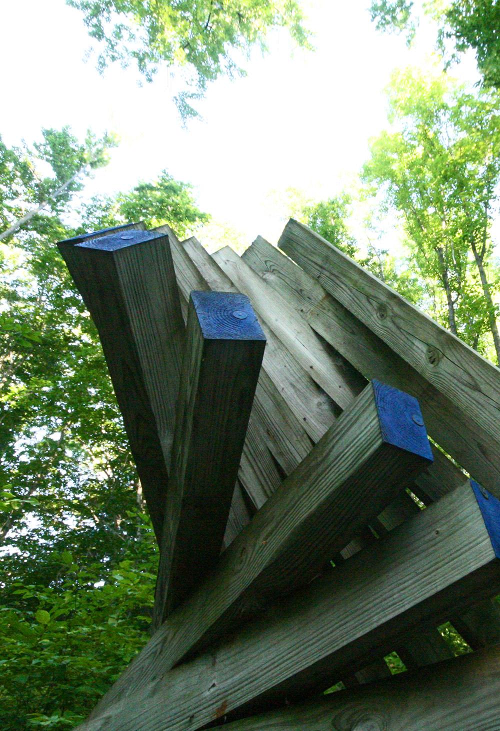 David Barr sculpture, Sawpath No 2