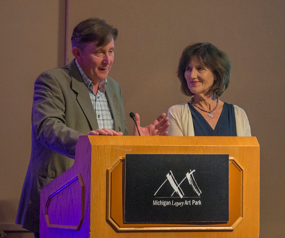 Legacy Award recipients Anne and Doug Stanton