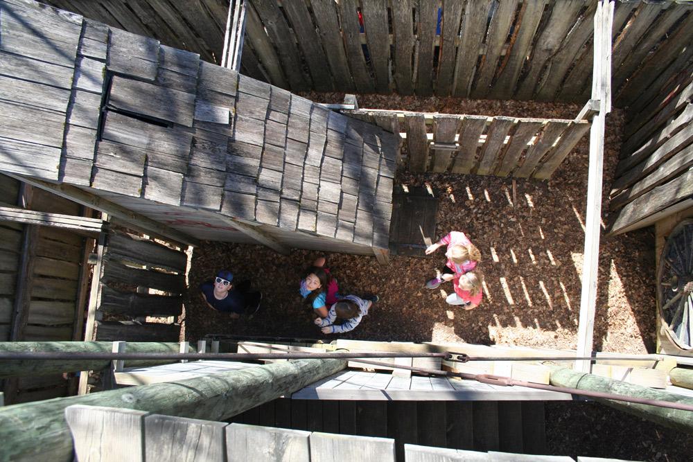 Stockade Labyrinth Exploring