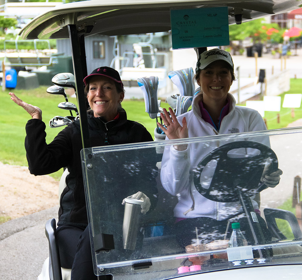 Enjoying the Michigan Legacy Art Park Golf Classic Fundraiser