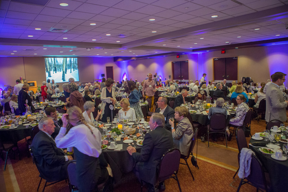 Legacy Gala dinner at Crystal Mountain