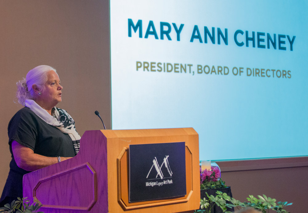 Art Park board president Mary Ann Cheney