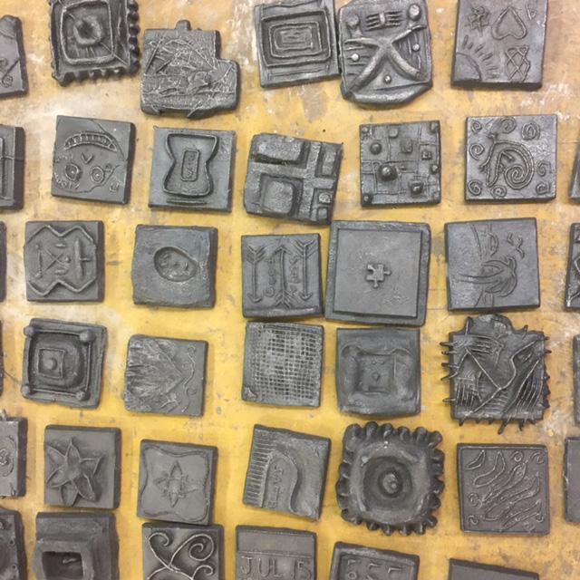 Student iron tiles