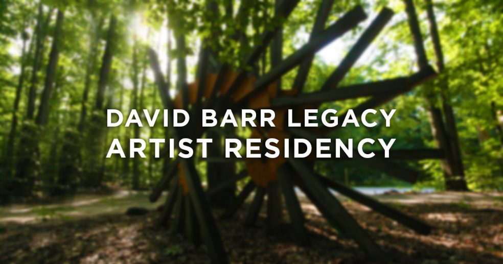 David Barr Legacy Artist Residency Announcement