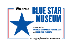 We are a Blue Star Museum