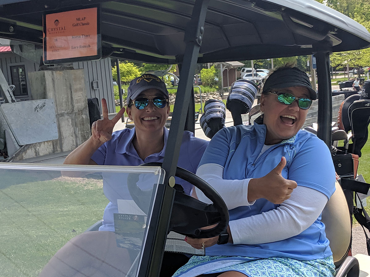 Take off at the Art Park Golf Classic